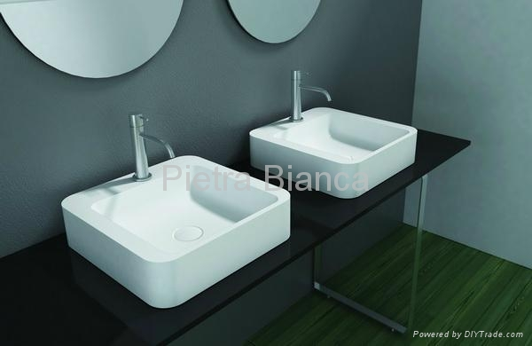 Delicacy Bathroom Solid Surface Stool Pb4002