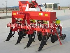No-till deep loosening full-thickness fertilizing corn soybean seeder