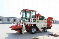4YZP-2 self-propelled corn  combine harvester