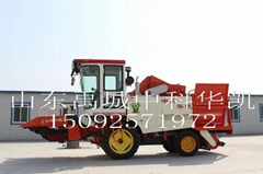 4YZP-2A 4wd self-propelled maize combine harvester
