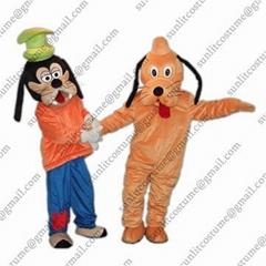迪士尼卡通服装人偶