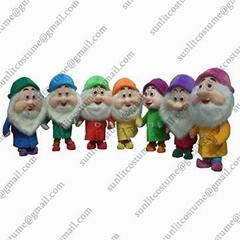 7个小矮人卡通服装人偶