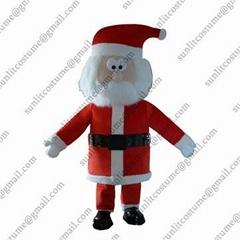 圣诞节日卡通服装人偶