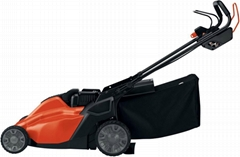 BLACK & DECKER 19 in. 36-Volt Cordless Electric Lawn Mower with an 18-Volt Strin