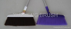 Plastic cleaning broom