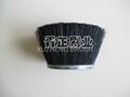 Polypropylene bristle cup shape strip