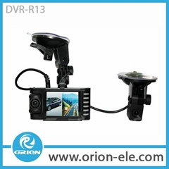 car video recorder with reversing rear view