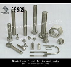 stainless steel bolts and nuts