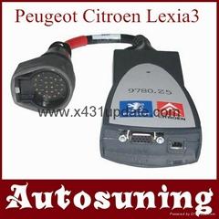 Lexia 3 PP2000 PPS2000 Citroen Peugeot Diagnostic Tool