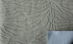 Short plush sofa and seat fabric