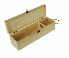 Wooden wine boxes; wooden boxes