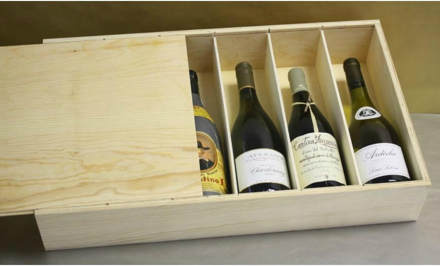 Wooden wine boxes; wooden boxes 2