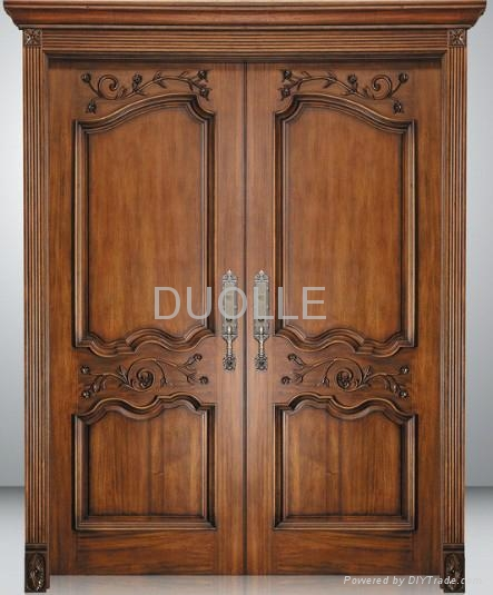 European style front entry doors duolle china for Entry door manufacturers