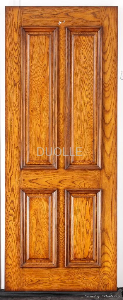 Solid wood interior doors and exterior doors panel doors duolle china manufacturer wooden for Solid wood panel interior doors