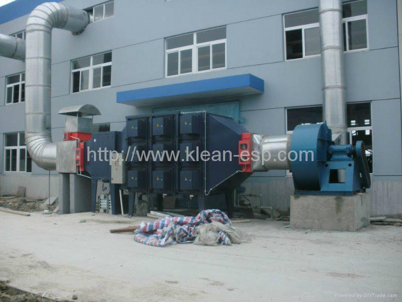 electrostatic air purifier for oil mist 2