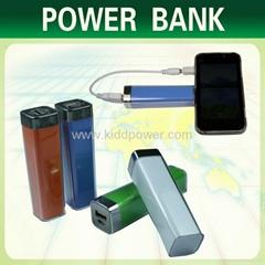 Hot Sale Item 2600mah Lipstick Pattern Fashionable Power Bank for Smart Phone