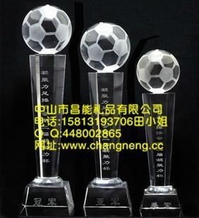 五角星水晶獎杯 5