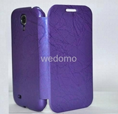 New Samsung galaxy i9500 leather case for S4 SAM-PB02