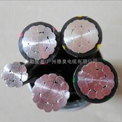 鋁合金電纜ACWU90 4*95 1*50