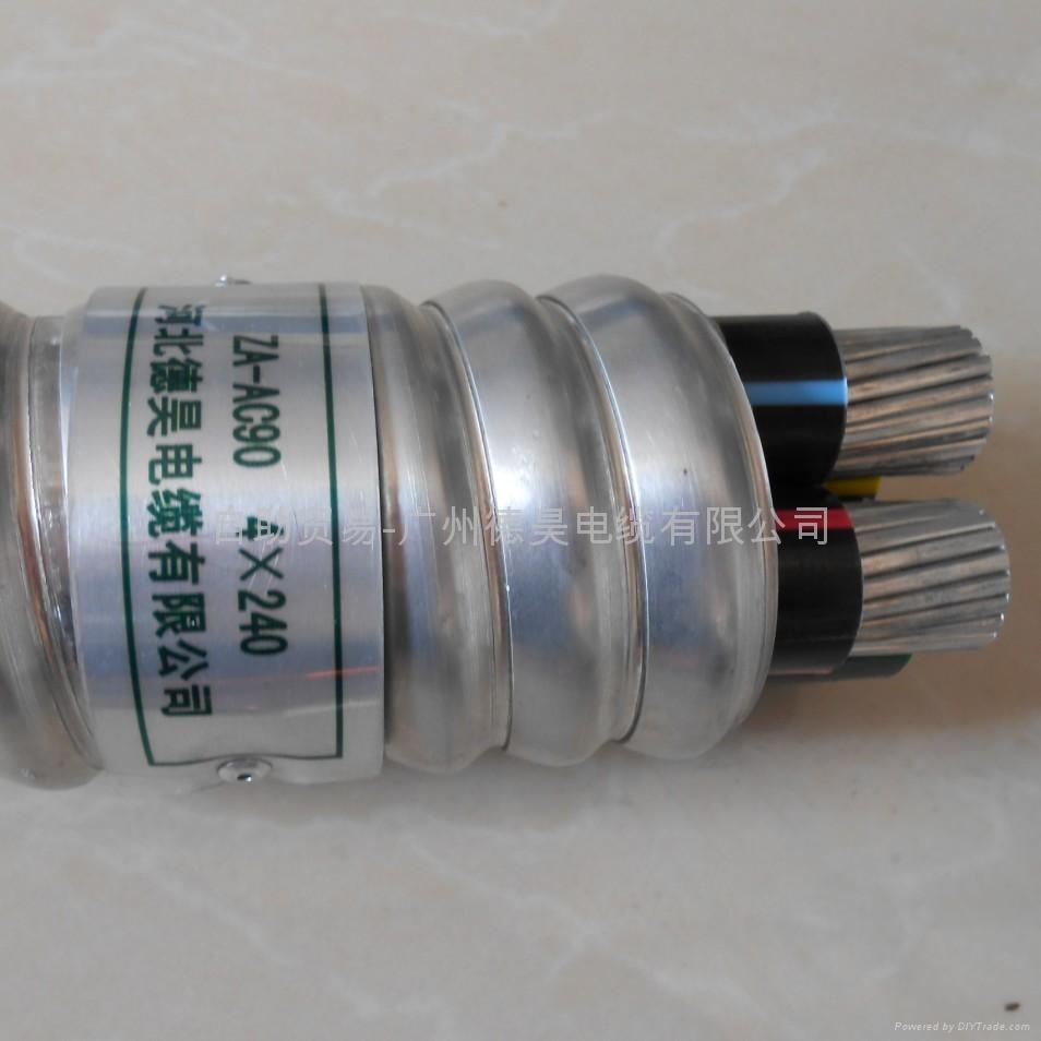 鋁合金電纜ZA-AC90 4*240 1