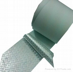 void tape,Anti-counterfeit packaging tape,Security warning tape