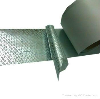 void tape,Anti-counterfeit packaging tape,Security warning tape 2