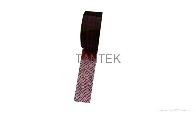 Segmented anti-false tape,Anti-counterfeit packaging tape,Security warning tape 3