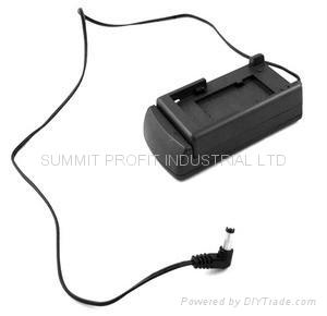 LCD Monitor Battery Adapter - For Canon BP Series Batteries