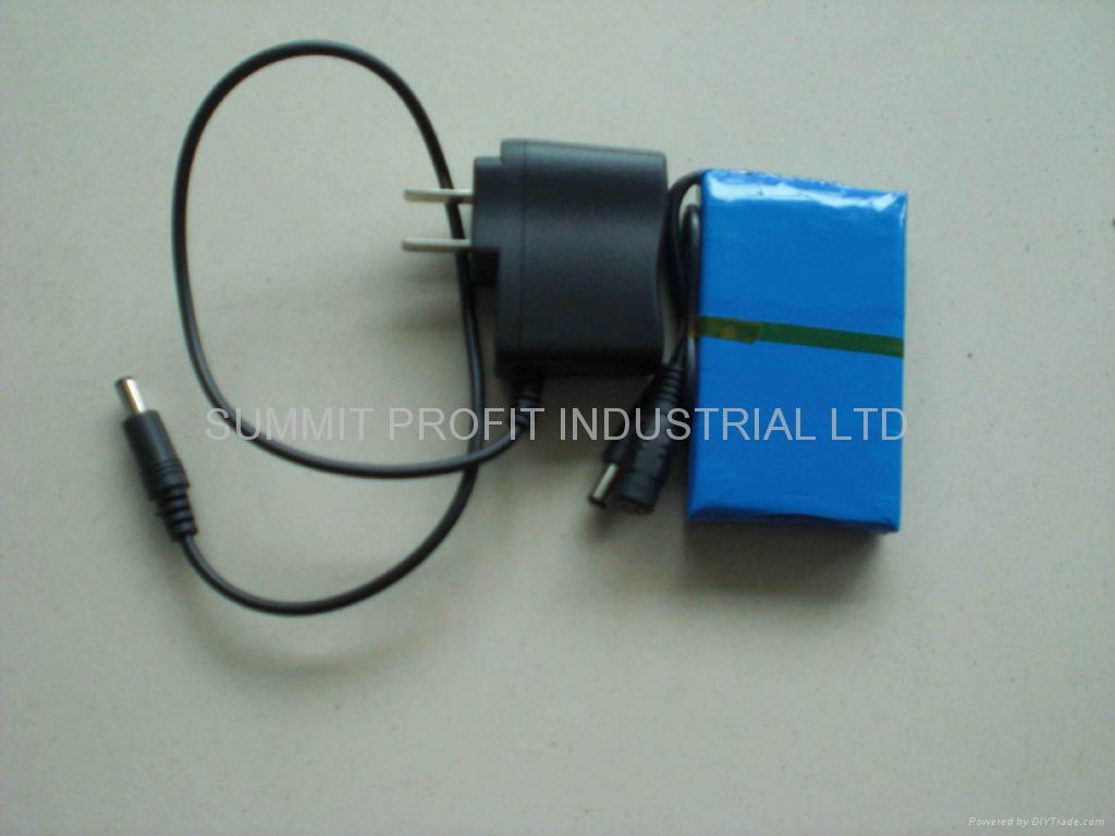 12V output Lithium battery