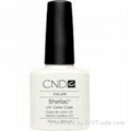 Buy Original Creative Nail Shellac UV Gel Nail Color Polish Studio White .25 oz