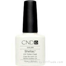 Buy Original Creative Nail Shellac UV Gel Nail Color Polish Studio White .25 oz