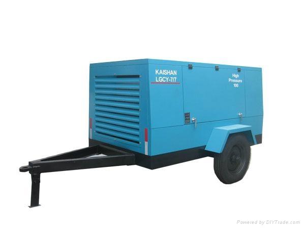 合肥7立方柴油移动螺杆空压机 1