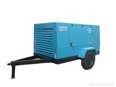合肥7立方柴油移动螺杆空压机