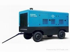 合肥33立方柴油移动螺杆空压机
