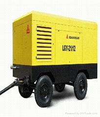 合肥20立方电动移动螺杆空压机