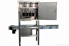 富友機械桶裝水自動拔蓋機
