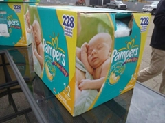 PamPers Baby Dry diapers Economy Plus Pack Diapers 192 Count - Size 4