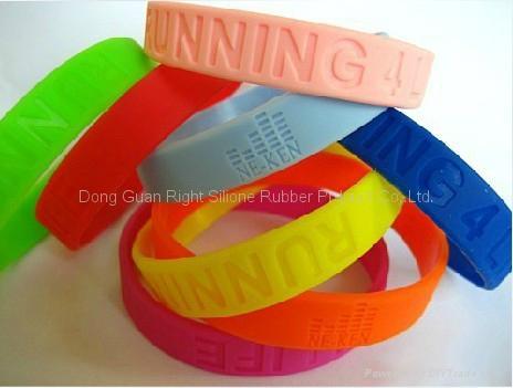 Silicone bracelets /silicone wristband  1