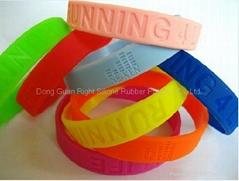 Silicone bracelets /silicone wristband