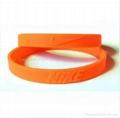 Silicone bracelets /silicone wristband  3