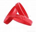 Silicone bracelets /silicone wristband  5
