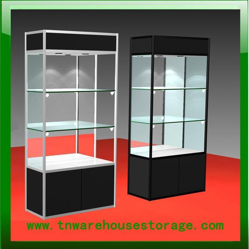 aluminium glass display showcase 1