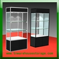 aluminium glass display showcase