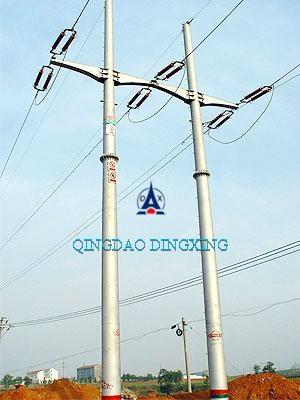 Steel Tubular Pole of Transmission Line - QDDX-3 - QINGDAO ...
