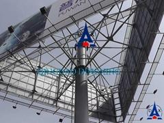Steel pole, lamp post, sign pole, steel billboard