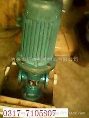 YHB-LY系列立式润滑圆弧齿轮泵