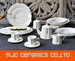 Ceramic porcelain Dinnerware sets Porcelain Tableware  plates dishes mugs bowls