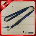smooth heat transfer printing lanyard