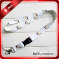 promotional polyester lanyard with logo