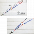 custom design polyester neck lanyard with your own logo  4